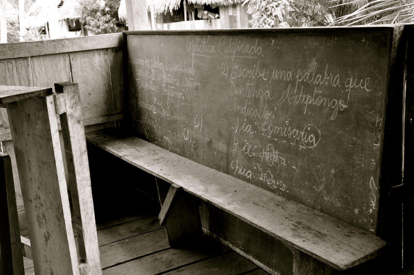 chalkboard black and white