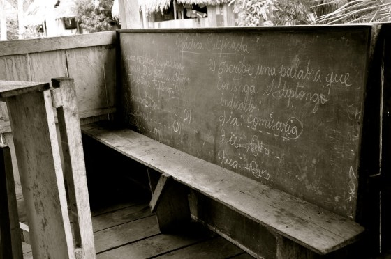 chalkboard black and white