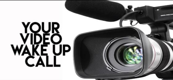 video wake up call